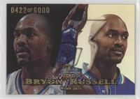 Bryon Russell [EX to NM] #/6,000