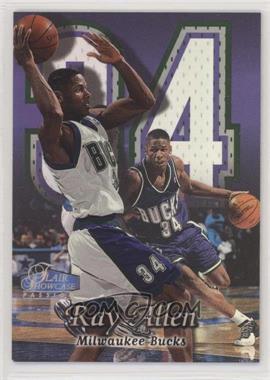 1998-99 Flair Showcase - [Base] - Row 2 #11 - Ray Allen