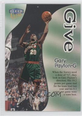 1998-99 Fleer Ultra - Give & Take #1GT - Gary Payton
