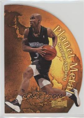 1998-99 Metal Universe - Planet Metal #9 PM - Stephon Marbury