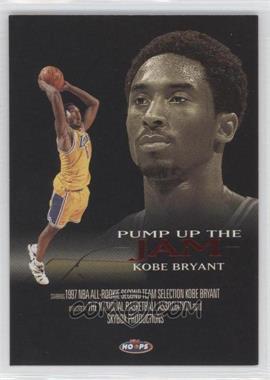 1998-99 NBA Hoops - Pump Up the Jam #4 PJ - Kobe Bryant