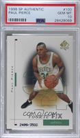 Paul Pierce /3500 [PSA 10 GEM MT]