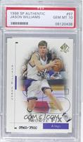 Jason Williams /3500 [PSA 10]