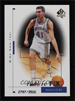 Rookie F/X - Dirk Nowitzki #2797/3,500