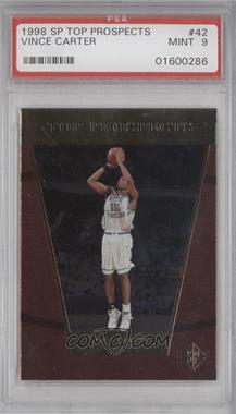 1998-99 SP Top Prospects - [Base] #42 - Vince Carter [PSA 9]