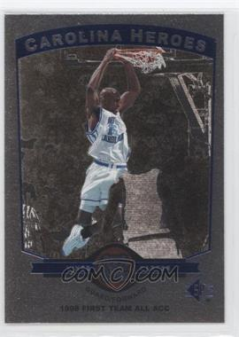 1998-99 SP Top Prospects - Carolina Heroes #H8 - Vince Carter