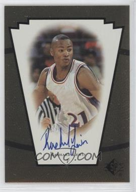 1998-99 SP Top Prospects - Vital Signs - [Autographed] #RL - Rashard Lewis