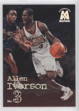 1998-99 Skybox Molten Metal - [Base] #139 - Allen Iverson