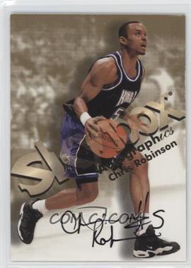 1998-99 Skybox Premium - Autographics #CHRO - Chris Robinson
