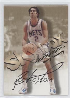 1998-99 Skybox Premium - Autographics #ROSE - Rony Seikaly