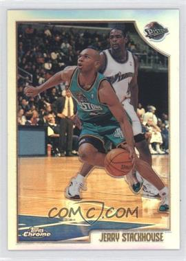 1998-99 Topps - Chrome Preview - Refractor #10 - Jerry Stackhouse