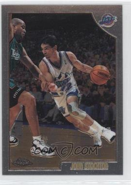 1998-99 Topps - Chrome Preview #73 - John Stockton