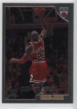 1998-99 Topps - Chrome Preview #77 - Michael Jordan