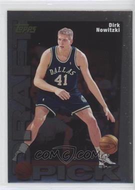 1998-99 Topps - Draft Pick #9 - Dirk Nowitzki