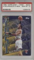Alonzo Mourning, Shaquille O'Neal [PSA10]