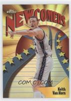 Newcomers - Keith Van Horn