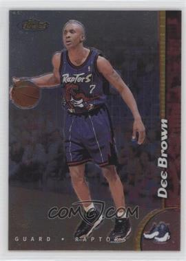1998-99 Topps Finest - [Base] - No-Protector #153 - Dee Brown