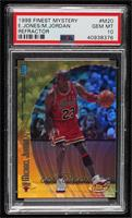 Michael Jordan, Eddie Jones [PSA 10 GEM MT]