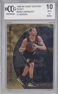 1998-99 Topps Finest Mystery Finest - [Base] #M36 - Allen Iverson, Stephon Marbury [ENCASED]