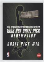 1998 NBA Draft Pick Redemption - Draft Pick #10 (Paul Pierce)
