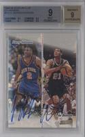 Tim Duncan, Larry Johnson [BGS 9]