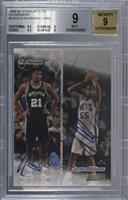 Tim Duncan, Jayson Williams [BGS 9 MINT]