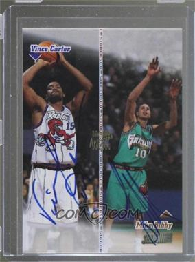 1998-99 Topps Stadium Club - Co-Signers - [Autographed] #CO20 - Mike Bibby, Vince Carter