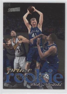 1998-99 Topps Stadium Club - Prime Rookie #P9 - Dirk Nowitzki