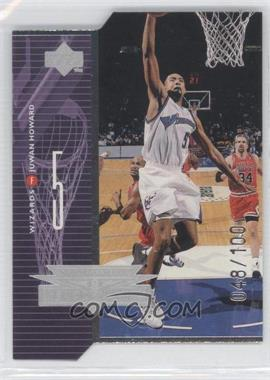 1998-99 Upper Deck - AeroDynamics - Silver Quantum Die-Cut #A24 - Juwan Howard /100