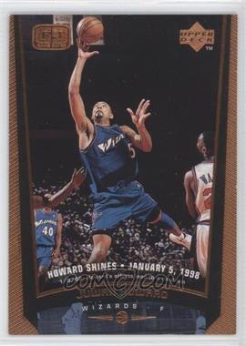 1998-99 Upper Deck - [Base] - Bronze #160 - Juwan Howard /100