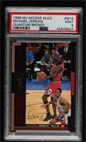 Michael Jordan [PSA9MINT] #/2,300
