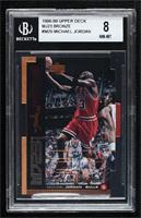 Michael Jordan [BGS8NM‑MT] #/2,300