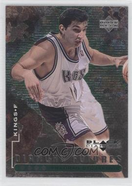 1998-99 Upper Deck Black Diamond - [Base] - Quadruple Diamond #106 - Predrag Stojakovic /50