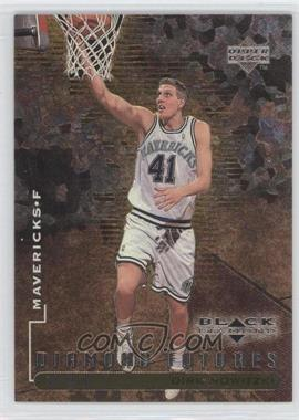 1998-99 Upper Deck Black Diamond - [Base] - Triple Diamond #92 - Dirk Nowitzki /1000