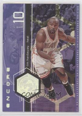 1998-99 Upper Deck Encore - Driving Forces #F10 - Tim Hardaway