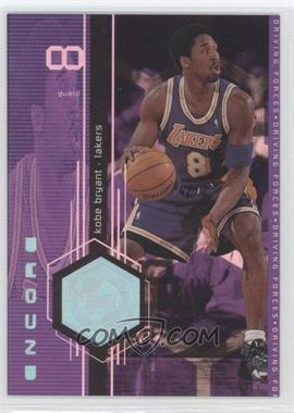 1998-99 Upper Deck Encore - Driving Forces #F2 - Kobe Bryant