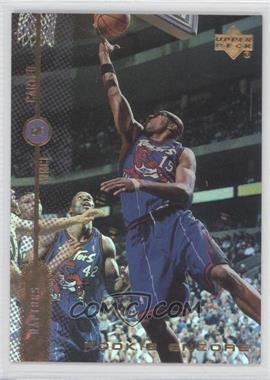 1998-99 Upper Deck Encore - Rookie Encore - F/X #RE10 - Vince Carter /1000