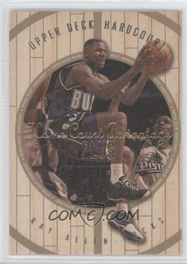 1998-99 Upper Deck Hardcourt - [Base] - Home Court Advantage Plus #20 - Ray Allen /500