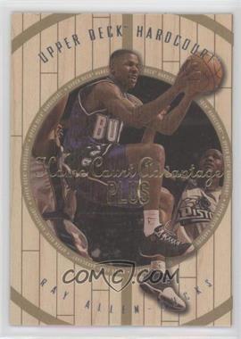 1998-99 Upper Deck Hardcourt - [Base] - Home Court Advantage Plus #20 - Ray Allen /500