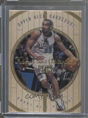 1998-99 Upper Deck Hardcourt - [Base] - Home Court Advantage Plus #35 - Grant Hill /500