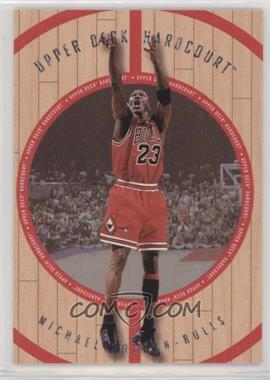 1998-99 Upper Deck Hardcourt - [Base] #23-A - Michael Jordan
