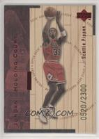 Scottie Pippen, Michael Jordan #/2,300