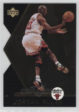 1998-99 Upper Deck Ovation - Jordan Rules #J11 - Michael Jordan