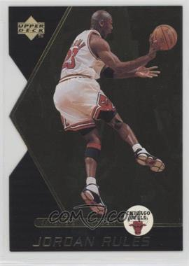 1998-99 Upper Deck Ovation - Jordan Rules #J11 - Michael Jordan