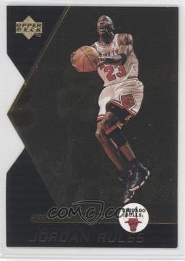 1998-99 Upper Deck Ovation - Jordan Rules #J13 - Michael Jordan