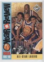 All-Star Lakers (Kobe Bryant, Nick Van Exel, Eddie Jones, Shaquille O'Neal)