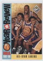 Kobe Bryant, Nick Van Exel, Eddie Jones, Shaquille O'Neal