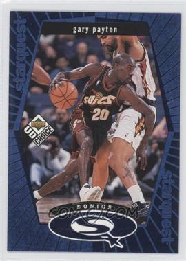 1998-99 Upper Deck UD Choice - Starquest - Blue #SQ25 - Gary Payton