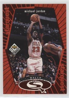 1998-99 Upper Deck UD Choice - Starquest - Red #SQ30 - Michael Jordan