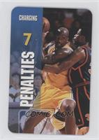 Penalties - Charging (Shaquille O'Neal)